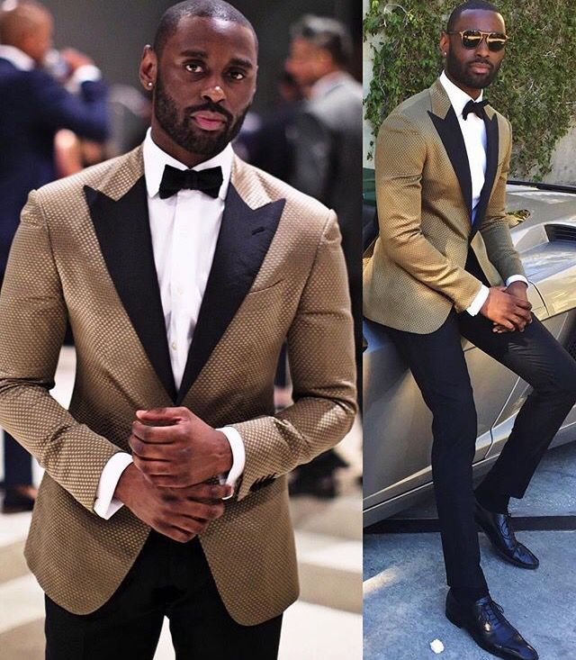 Groom Gold/brown tux | Men\'s Style & Fashion | Pinterest | Brown tux ...