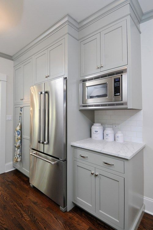 My Favorite Non-White Kitchen Cabinet Paint Colors - Evolution of Style #kitchencabinetrenovation #greykitchendesigns