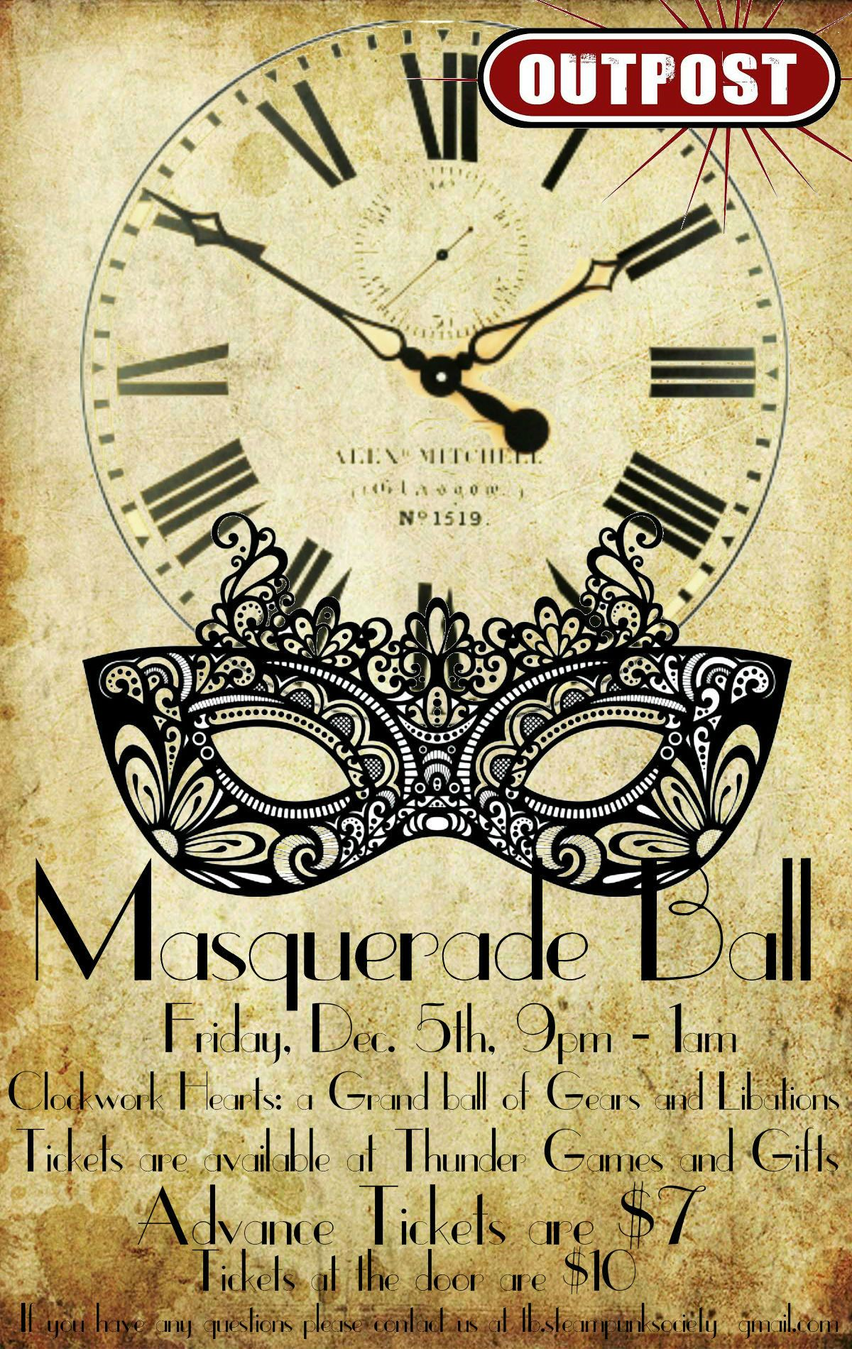 Masquerade Ball Poster OutPost
