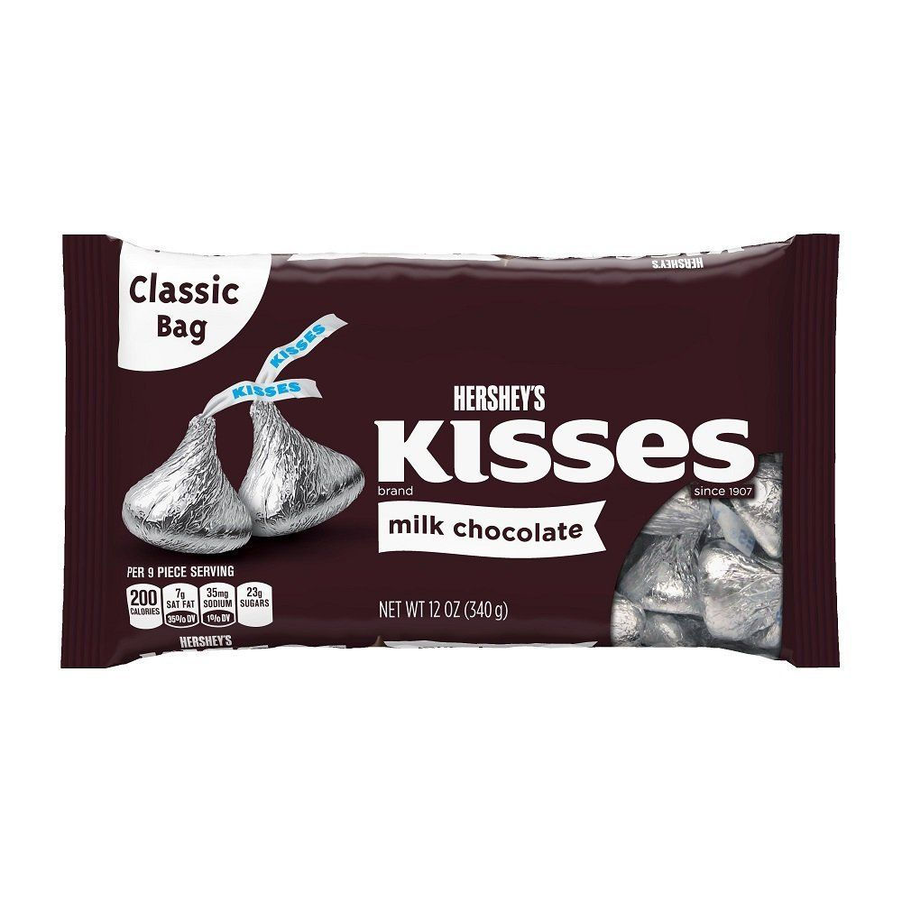 Kisses Milk Chocolate 12 Ounce Bags Pack Of 4 Insider S