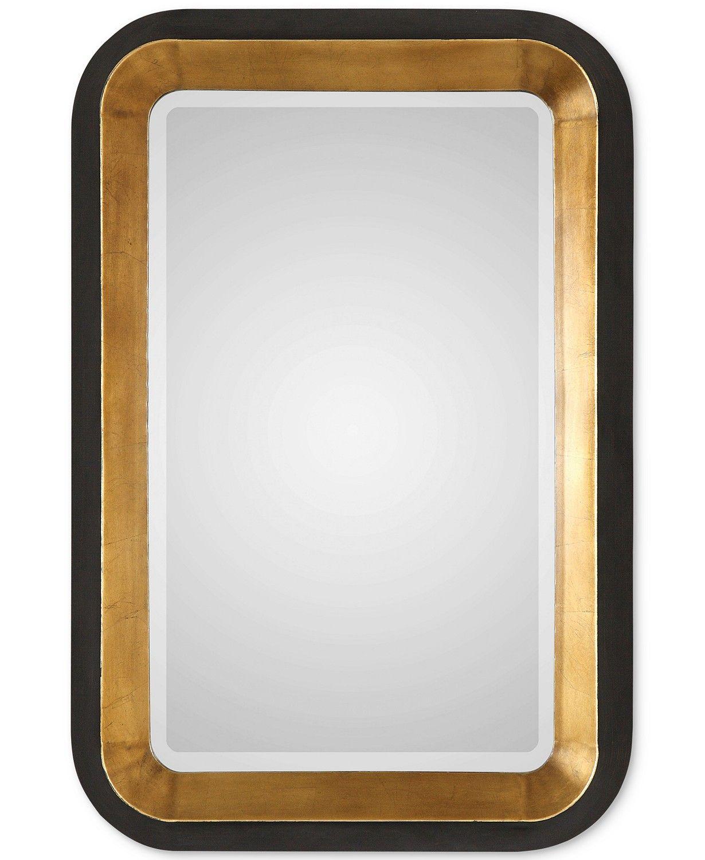 Uttermost Niva Metallic Gold Wall Mirror Reviews All Mirrors