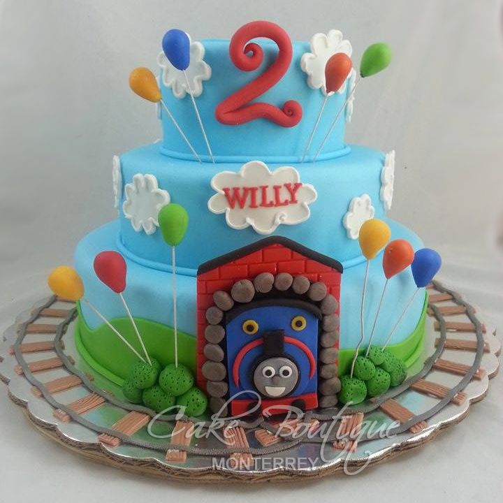 Thomas And Friends Cake Twins 3rd And Jaces 2nd Birthdays In