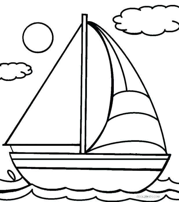 Printable Colouring Pages Boats Coloring Cruise Ship Page Boat With Azovmash Coloring Pages For Kids Boat Drawing Coloring Pages