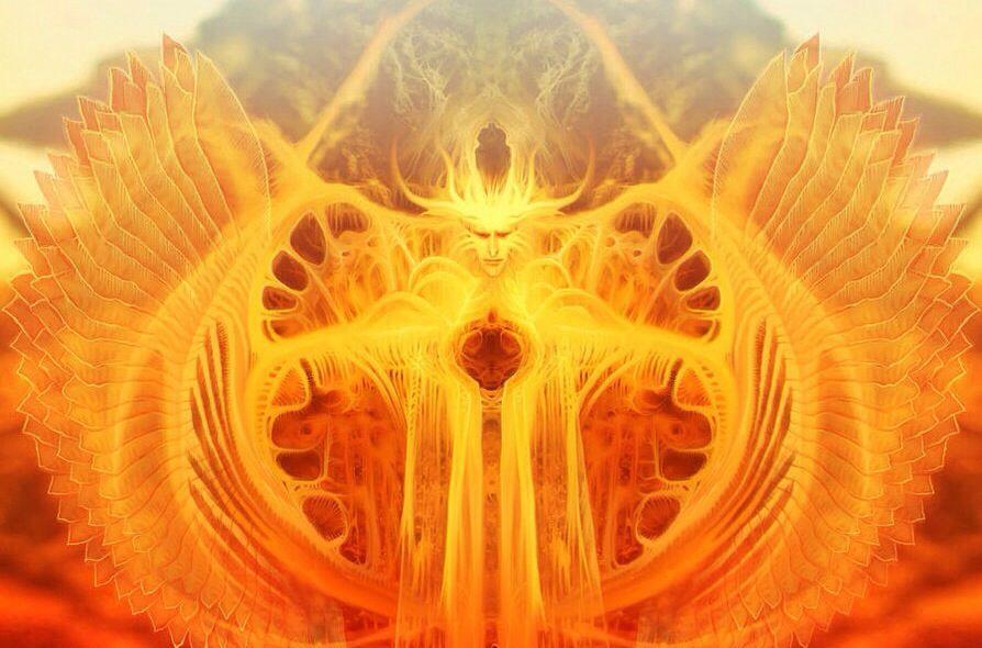 """O verão está sob a influência do arcanjo Uriel, cujo nome significa """"Deus é a minha luz""""."""