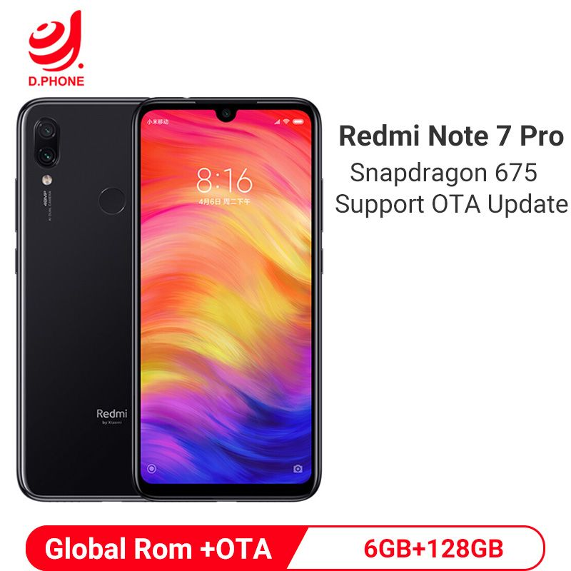 Cheap Price For Xiaomi Redmi Note 7 Pro 6gb 128gb Smartphone Snapdragon 675 Octa Core 4000mah 18w Quick Charger 48mp Dual Camera Mobi Note 7 Xiaomi Snapdragons