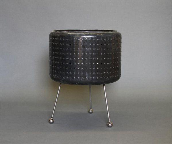 washing machine drum to fire pit
