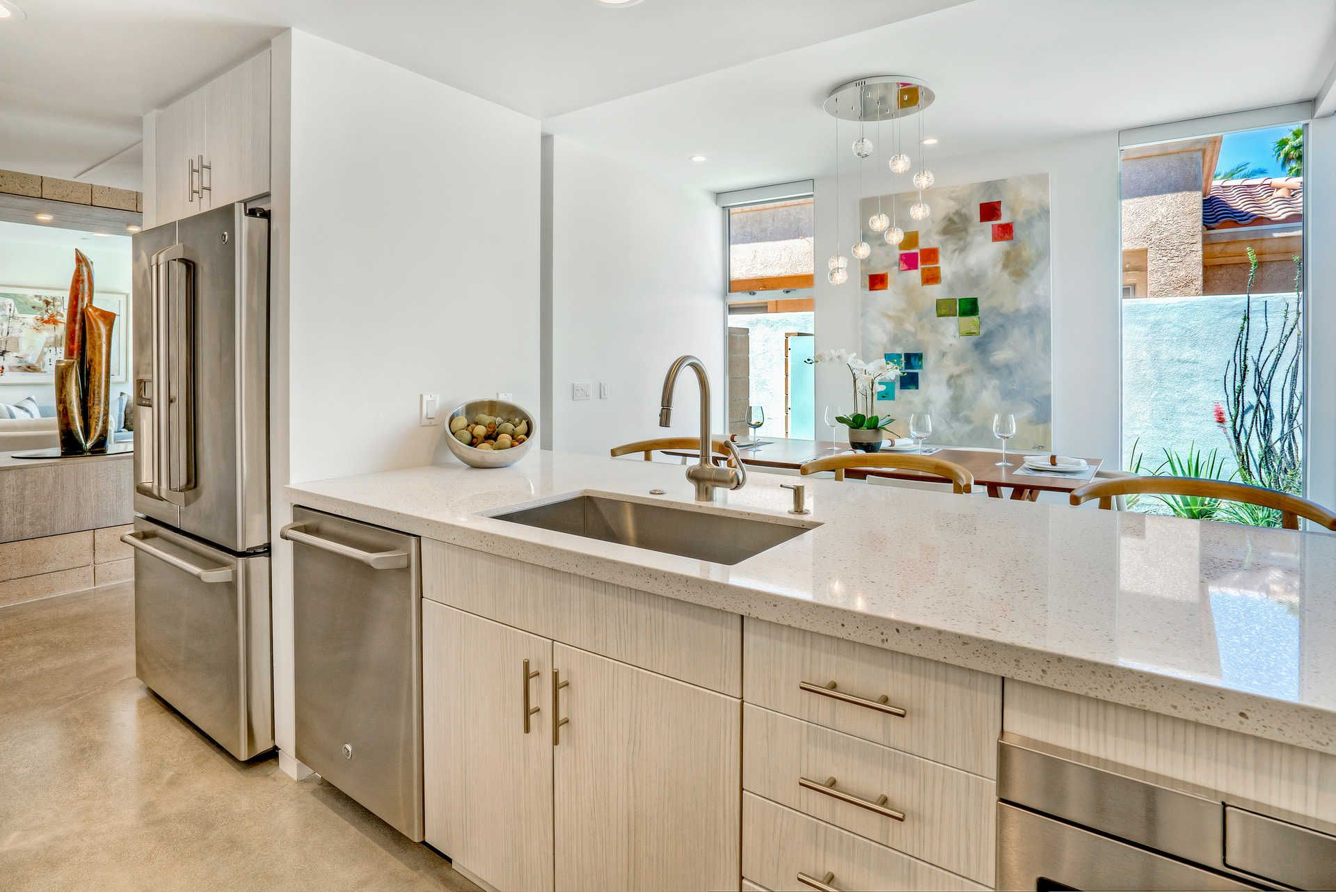 73801 Shadow Mountain Dr Palm Desert Built Ins Kitchen Energy Efficient Lighting