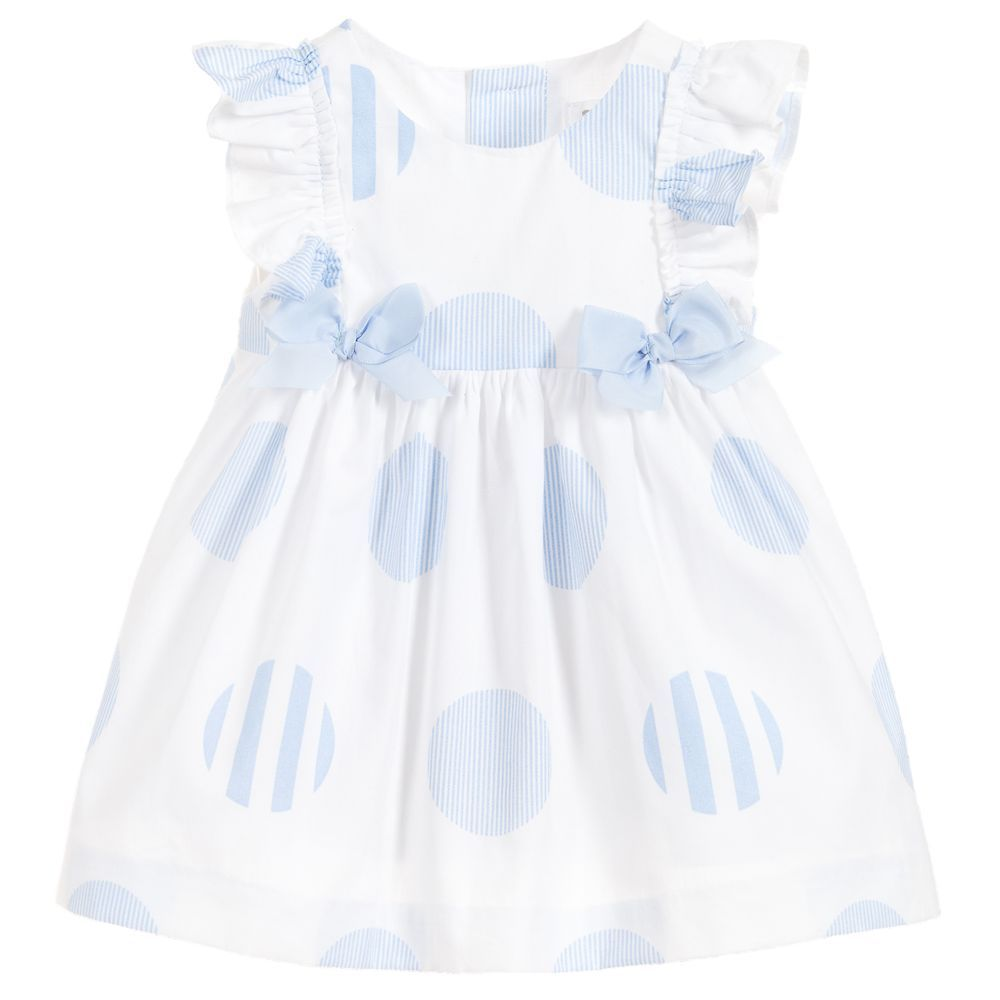 890c75cf4dde Baby girls sweet dress and knickers set by Mayoral Newborn