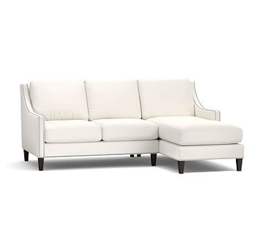 Pasadena Upholstered Left Arm Sofa With Chaise Sectional