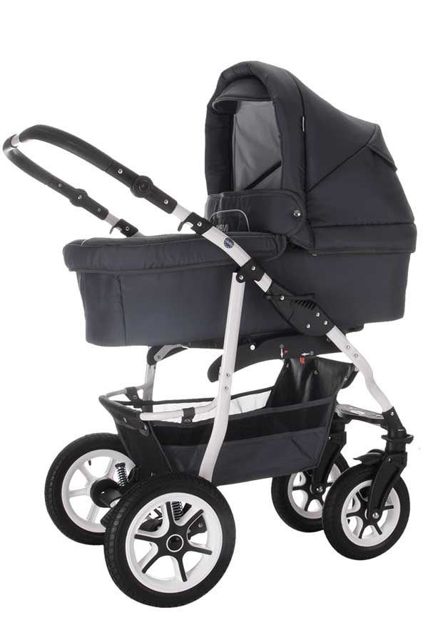 Bebebi Bellami | 3 in 1 Kombi Kinderwagen Luft Bellagrey #decorationequipment