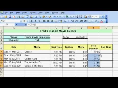 ▷ Microsoft Excel Tutorial for Beginners #23 - Date  Time Pt4
