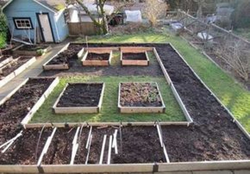 49 Awesome Vegetable Garden Design Ideas Square Foot Gardening