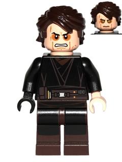 Lego Anakin Skywalker Sith Face 9494 Star Wars Minifigures Anakin Skywalker Skywalker