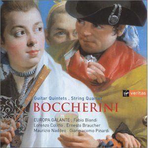 Boccherini: Guitar Quintets/String Quartet - Mauro Occhoniero, Fabio Biondi, Europa Galante