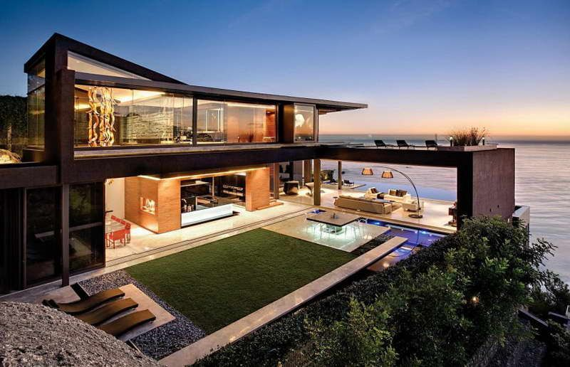 Architecture Beautiful Modern Contemporary Homes Sleek And