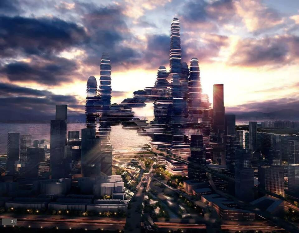 Shenzen cloud citizen  ufo urban future organization