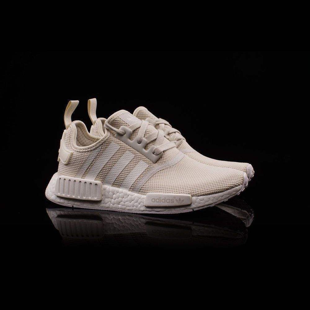 Adidas NMD R1 Talc Cream Brand New Tan S76007 Womens Size: 6-11