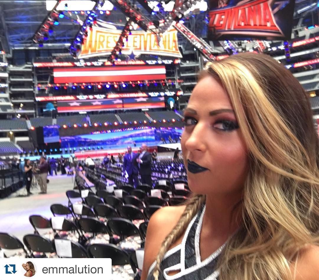 #WrestleMania Week was a dream come true for @emmalution!