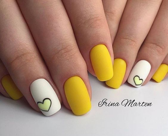 Top 150 Ideas For Yellow Nail Art Designs Reny Styles Yellow Nails Design Yellow Nail Art Yellow Nails