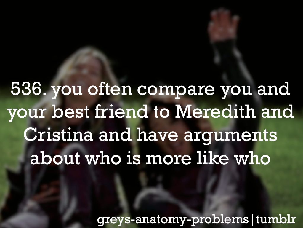Grey's Anatomy Problems: Photo @Kristin