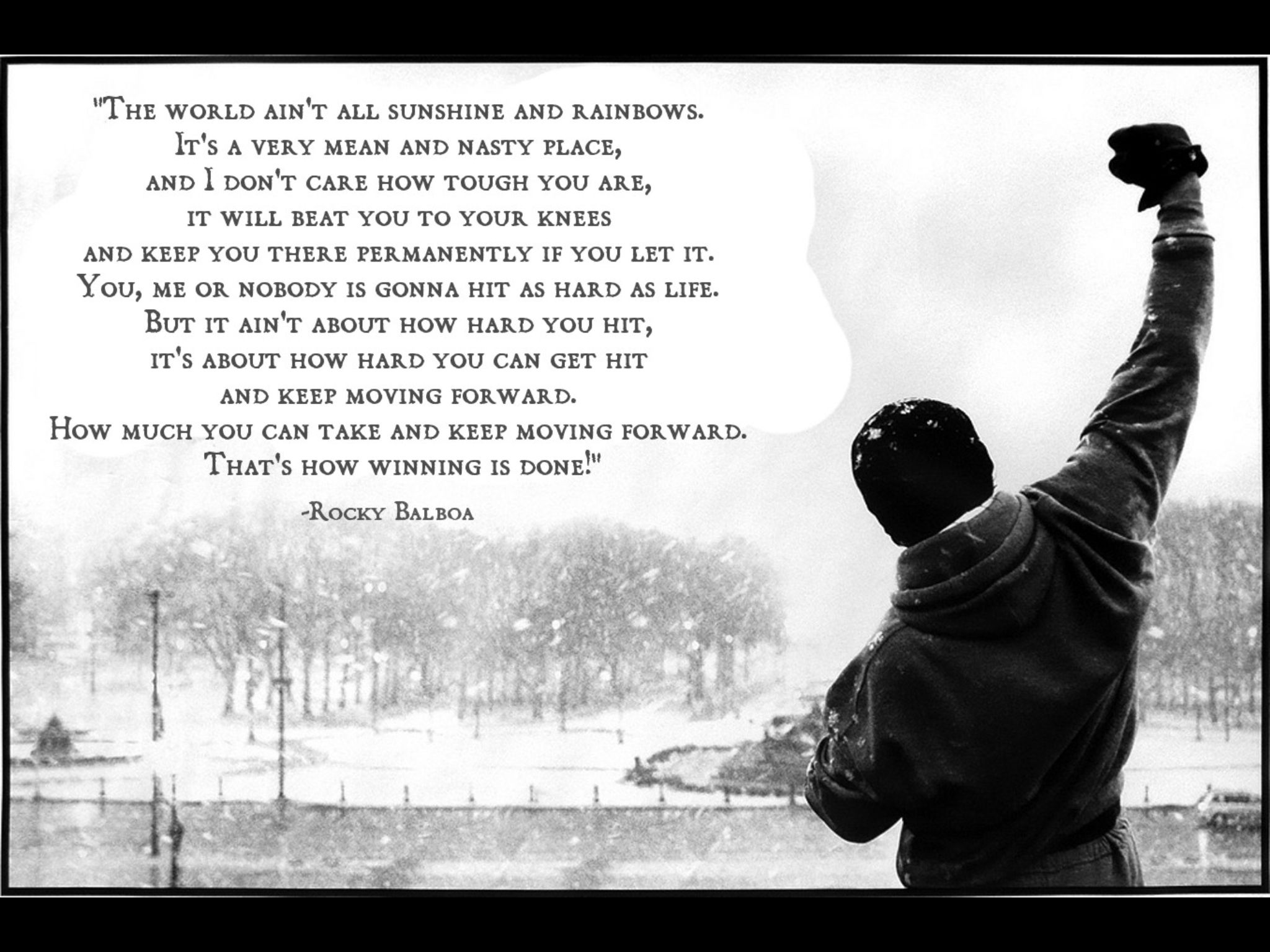Famous Rocky Quotes Rocky Balboa  Rocky  Pinterest  Rocky Balboa Quotes Images And
