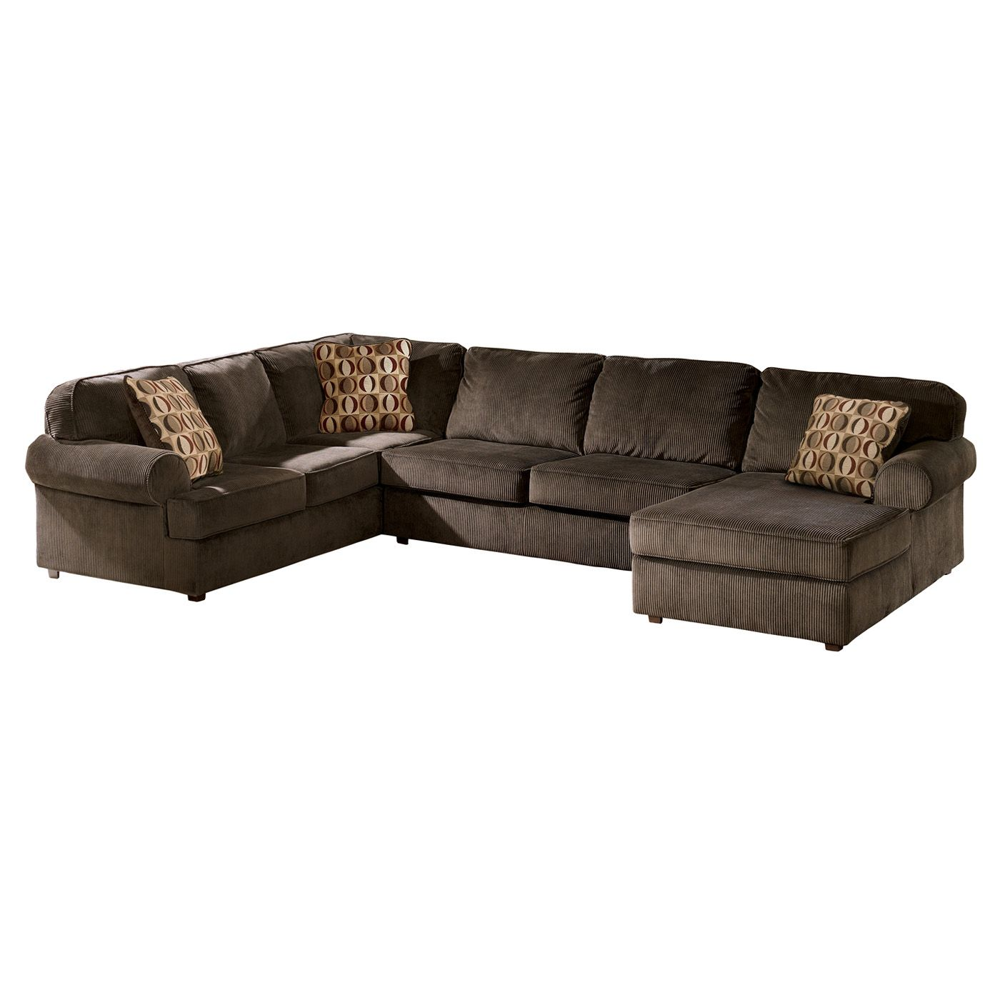 Shop Signature Design By Ashley Vista Sectional At Atg Stores Browse Our Sectional Sofas Al Ashley Furniture Furniture Mall Of Kansas Most Comfortable Couch