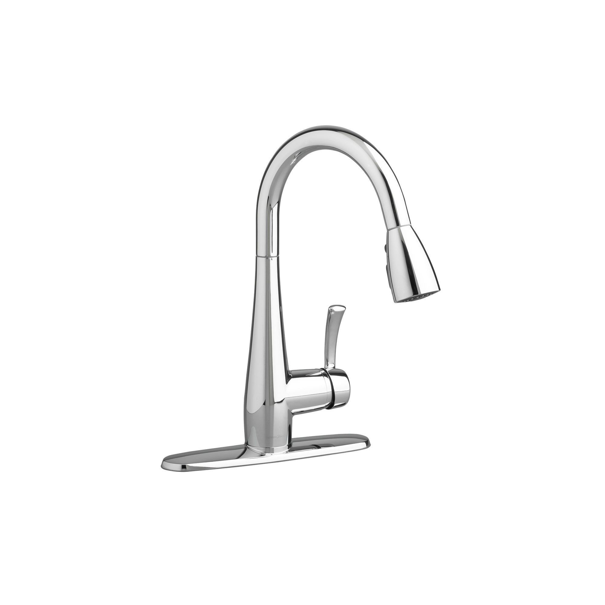 American Standard 4433 300f15 Quince Pull Down Kitchen Faucet Polished Chrome Faucet American Standard Kitchen Faucet