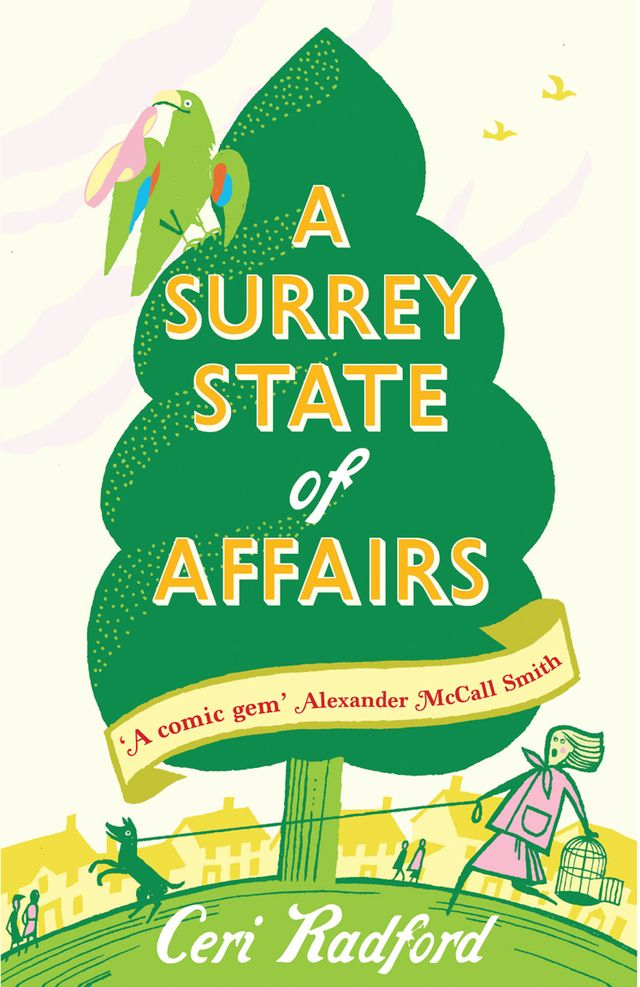 A Surrey State of Affairs. Design: Emma Graves