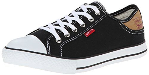 Levi's Women's Stan Buck Walking Shoe, Black, ...