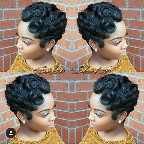 19 Savory Hairstyles Trenzas Ideas Short Hair Styles Finger Waves Short Hair Hair Waves