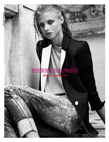 Pierre Balmain    Model: Anna Selezneva    Photographer: Karim Sadli    Art Director: Atelier Franck Durand