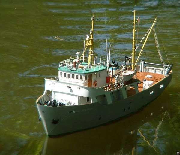 hobby al moktashef fishing vessel blueprints | Free Model ...