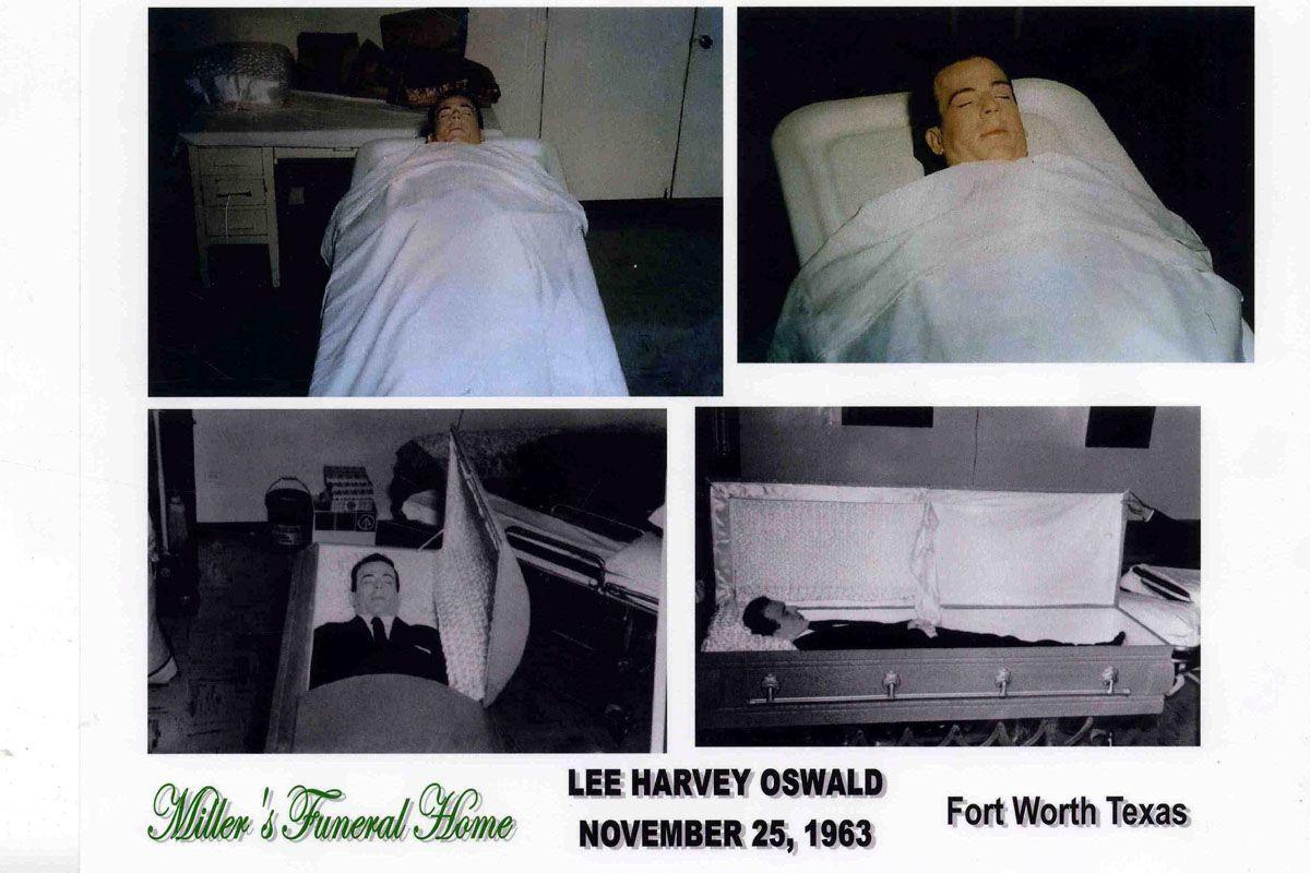 I allege this is not Lee Harvey Oswald.  Harvey, Lee, Children images