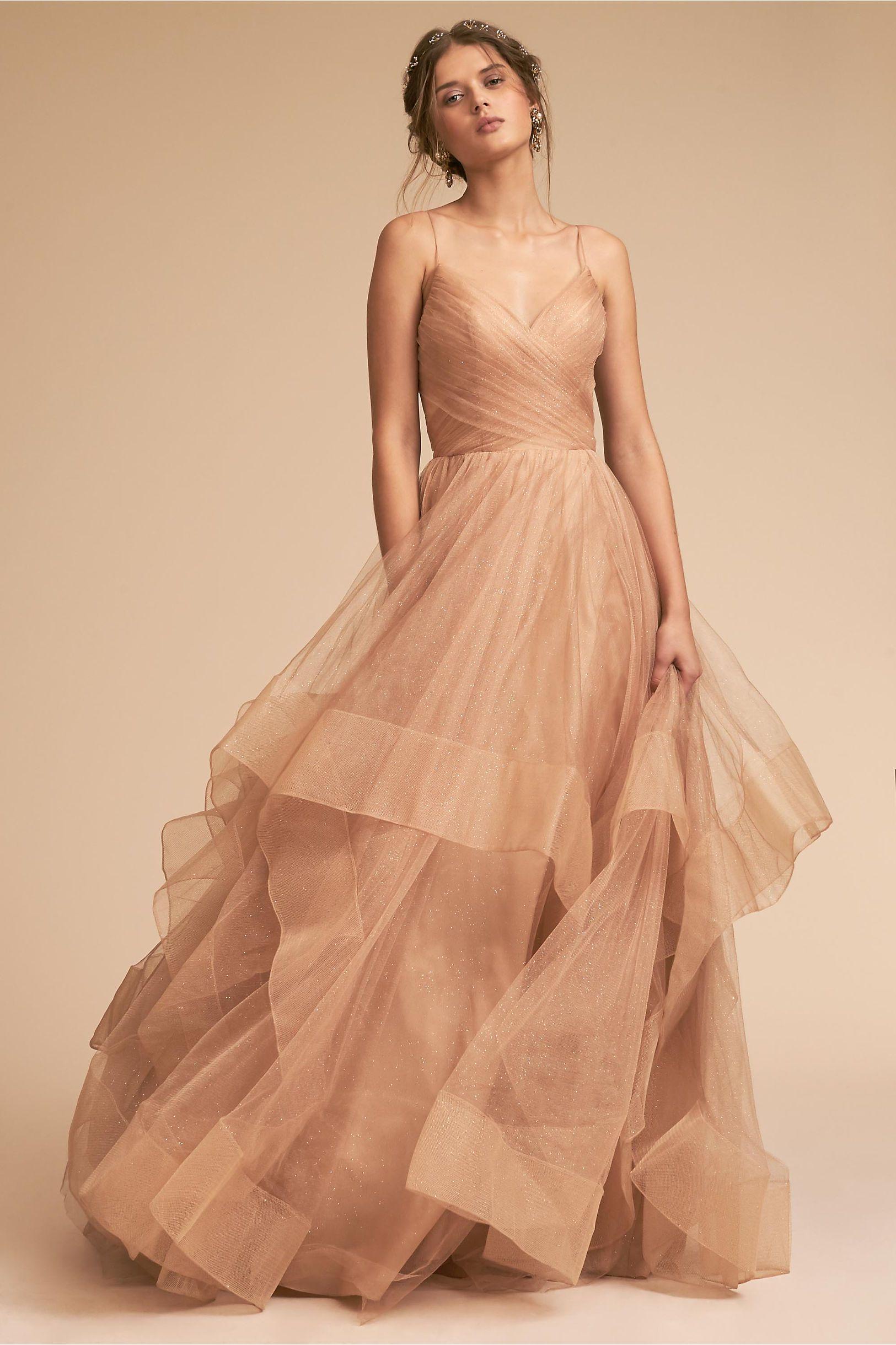 e94c2761ae51 BHLDN s Chantelle Dress in Gold
