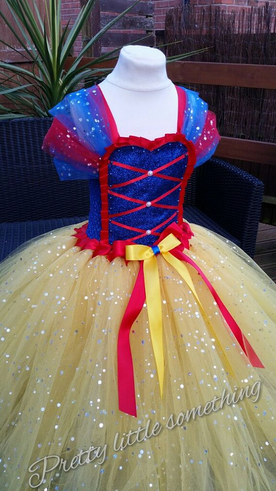 Snow white disney princess inspired tutu by LittleSomethingTutus 65d0b1db9f