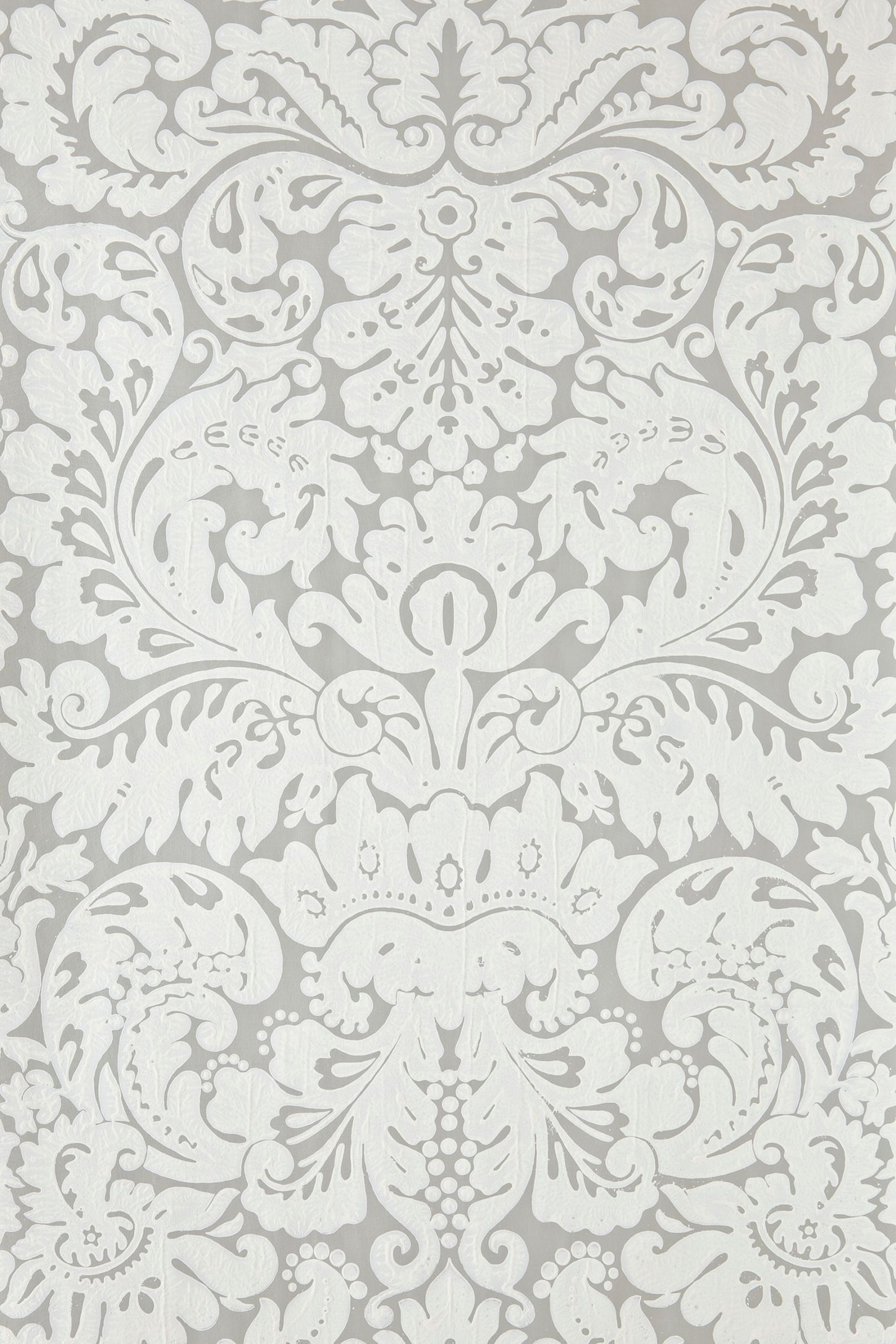 Farrow Ball Silvergate Wallpaper Painting Down The House In