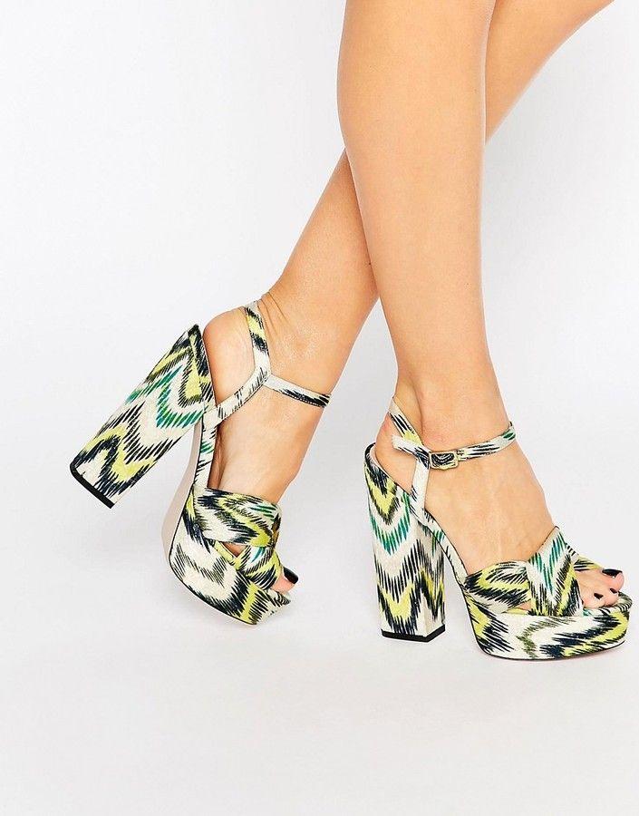 580ad6f916ca ASOS HOT SPRINGS Platform Sandals