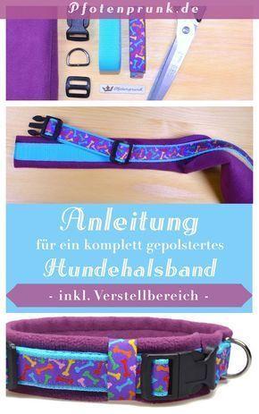 Photo of Vollständig gepolstertes Halsband Selbernähen