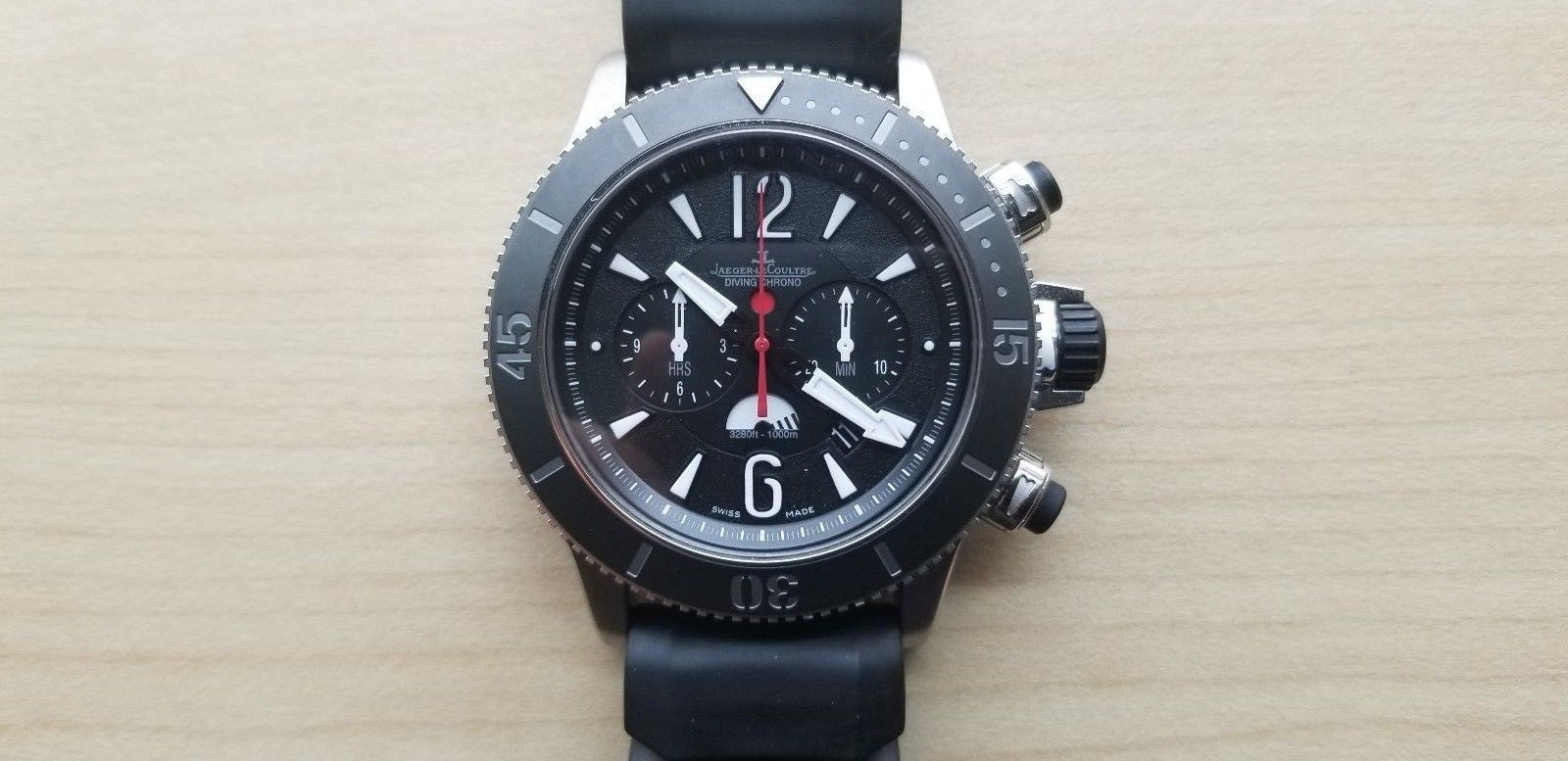 Jaeger LeCoultre Master Compressor Diving Chronograph GMT