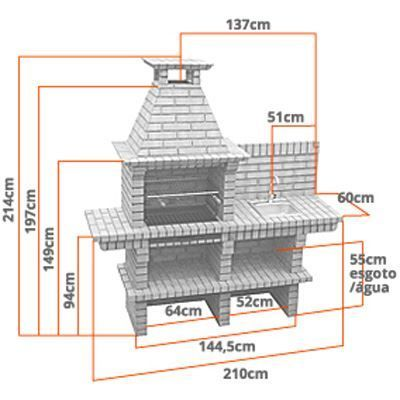 Plans de barbecue ext rieur plan de barbecue en brique for Plan barbecue exterieur