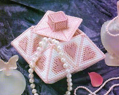 plastic canvas jewelry box pattern Google Search Plastic Canvas
