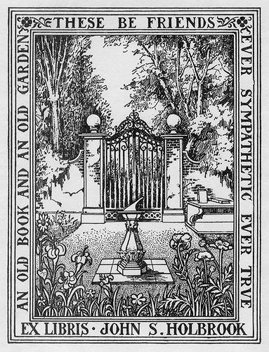 [Bookplate of John S. Holbrook] | by Pratt Institute Library