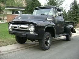 Image result for pictures 1950's four wheel drive pick up conversions