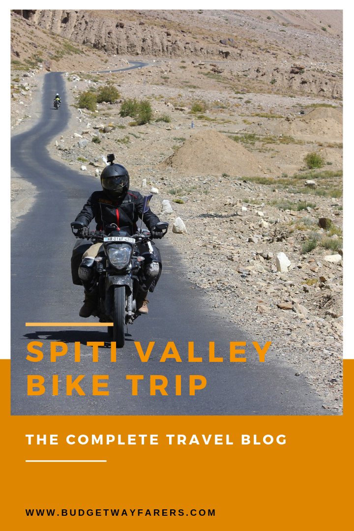 Spiti Valley Bike Trip Blog The Complete Itinerary Route