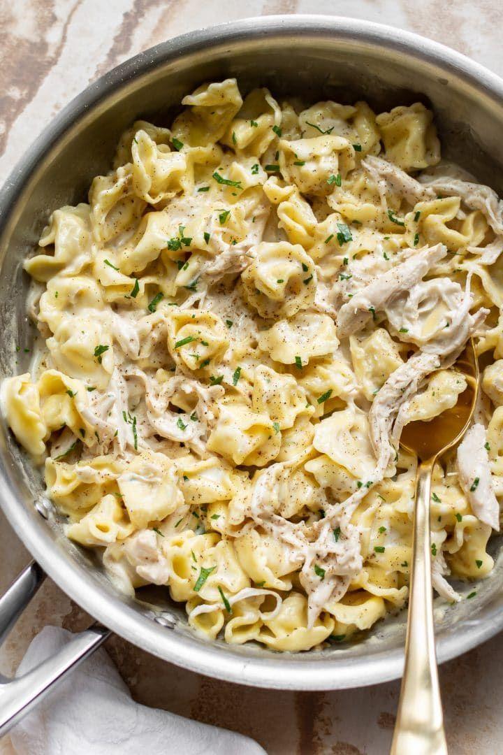 Chicken tortellini alfredo recipe tortellini recipes