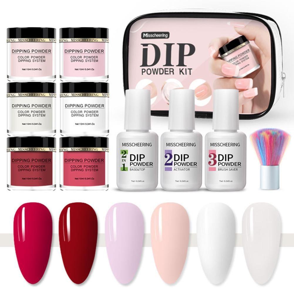 Get 50 Off 12 Color Nails Dip Powder Starter Kit No Led Or Uv Lights Needed In 2020 Gel Manicure Dip Powder Nails Manicure Kit