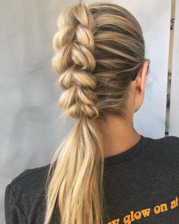 Cómo hacer tu cola de caballo trenzada: 13 estilos para probar ahora #braids #braids #ponyta …