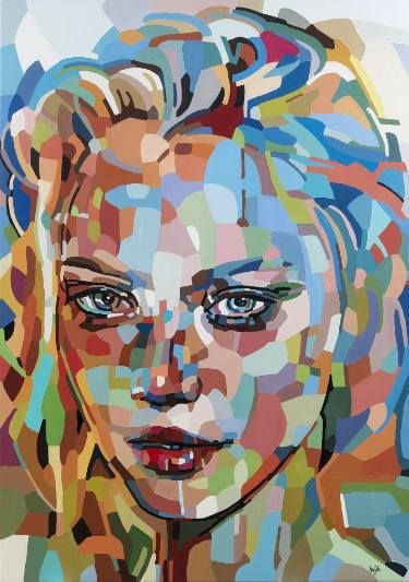 Saatchi Art Artist Noemi Safir; Painting, Let it be #art