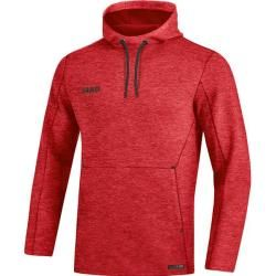 Jako Damen Kapuzensweat Premium Basics, Größe 42 in rot meliert, Größe 42 in rot meliert Jako #womenssweatshirts