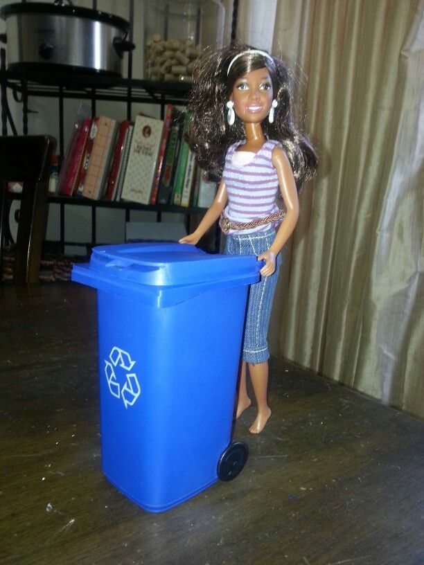 Dollar Tree Pencil Holder Perfect Size For Barbie Doll Furniture